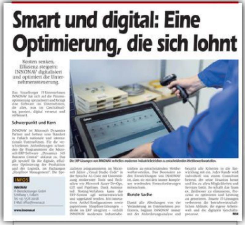 Smart und digital: Eine Optimierung, die sich lohnt.